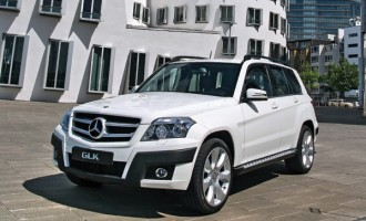 Mercedes Benz GLK  Flert mašina