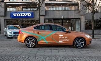 Volvo automobili sami voze