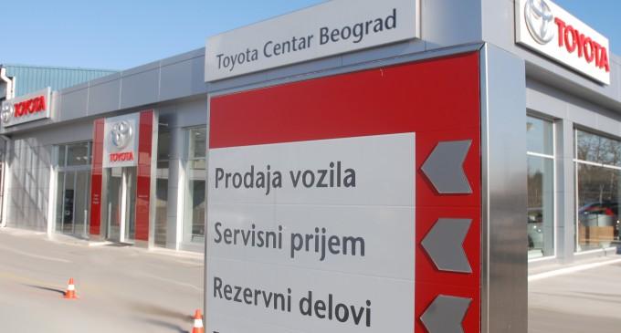 Nagrađen Tojota Centar Beograd