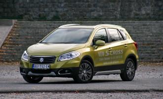 Vozili smo: Suzuki S-Cross SX4 1,6 CVT 4WD Exclusive