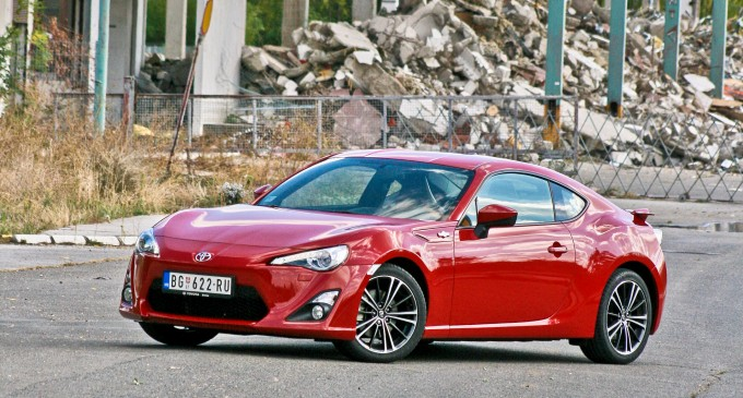 Toyota GT86 Sport Leather Automatic