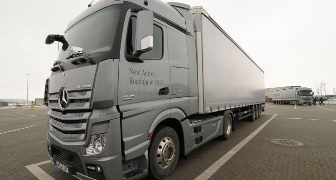 Euro 6 roudšou Mercedes komercijalnih vozila
