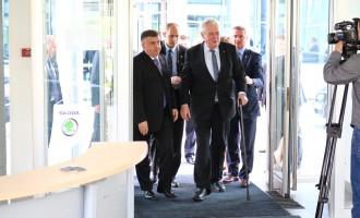 Češki predsednik posetio Autočačak