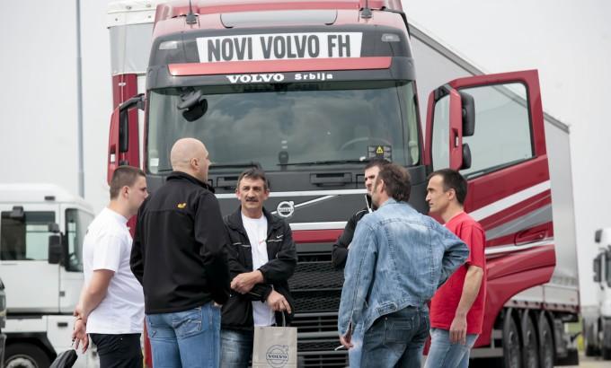 Nabolji rezultat je postigao Darko Lazić is firme ST Prevoz iz Kragujevca