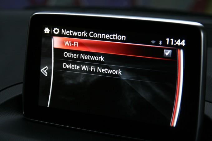Sa nekoliko preiključaka za memoriju, pa čak i wi-fi prijemnikom, mazda je vrlo fleksibilna
