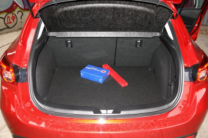 Prtljažnik se uklapa u prosek klase