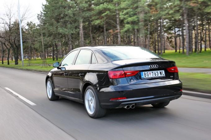 Audi A3 je jedina klasična premijum limuzina u svojoj klasi