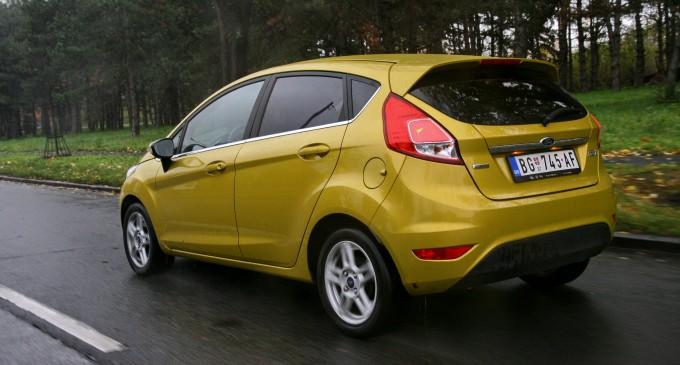 Ford Fiesta za manje od 115 evra mesečno