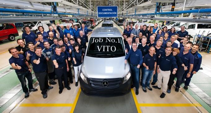 Počela proizvodnja Mercedesa Vito