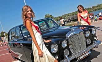 Jaguar i Land Rover na Beogradskom Classic Car Show