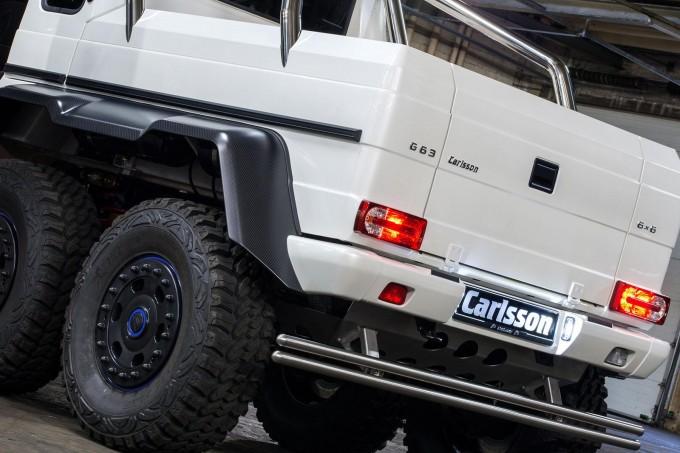 Auto magazin Mercedes G63 AMG 6x6 Carlsson 4