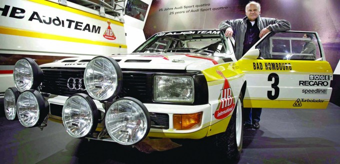 Audi Tradition feiert 25 Jahre Sport qauttro