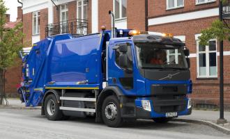 Volvo komunalci na gas