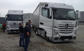 Mercedes-Benz obuka za vozače kamiona