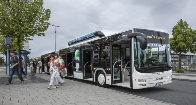 MAN Lion's City GL CNG autobus godine 2015.