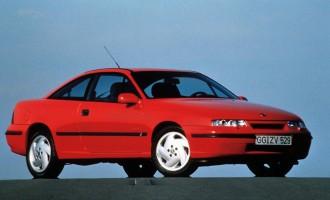 Opel Calibra – 25 godina
