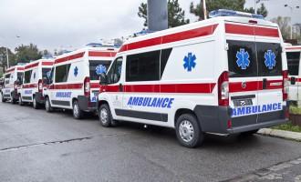 """Hitnoj pomoći Beograda isporučeno 30 """"fijata dukato"""""""
