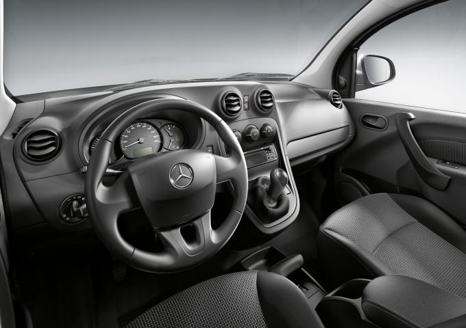 Mercedes je kabinu preuredio u svom stilu