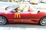 """Ferrari F430 Spider vozilo za isporuku hrane iz """"meka"""""""