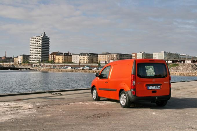 Kopenhagen je bio kao poručen za upoznavanje sa mercedesom citan