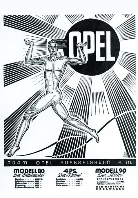 Pocetkom proslog veka Opel se reklamirao kao sportski brend