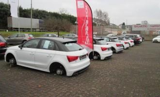 Ukradeni točkovi ispred VW salona u Nemačkoj