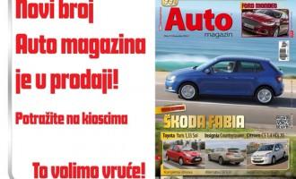 Novembarski broj Auto magazina u prodaji