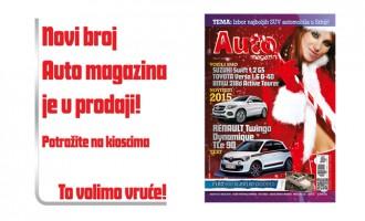 Januarski broj Auto magazina