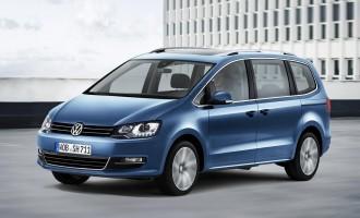 Osvežen Volkswagen Sharan