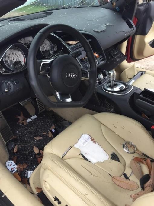 auto magazin zena unistila audi R8 zbog varanja 2