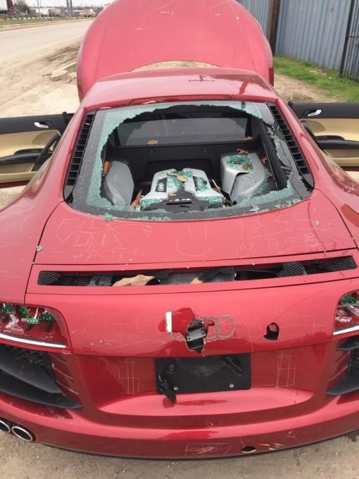 auto magazin zena unistila audi R8 zbog varanja 3