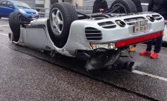 Kako uništiti legendarni super-auto na samo 100 metara?!