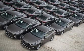 Mazda poklonila 117 automobila Srbiji