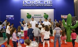 Porsche grupacija i UNIQA za decu iz prihvatilišta