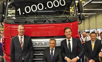 DAF proizveo milioniti kamion