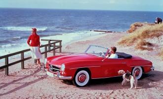 Mercedes-Benz 190 SL slavi 60. rođendan