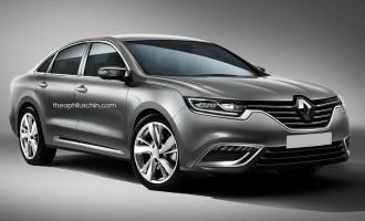 Render nove Renault Lagune na bazi špijunskih snimaka