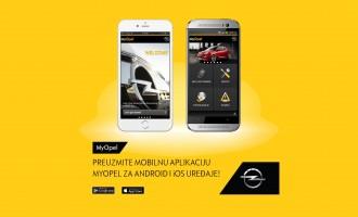 MyOpel aplikacija – servis u džepu