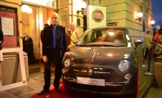 Fiat 500 uz Renata Balestru