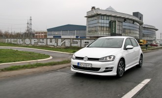 VW Golf 2,0 TDI DSG Highline