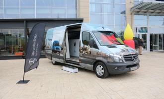 Mercedes-Benz Van Roadshow danas do 18h ispred Delta City