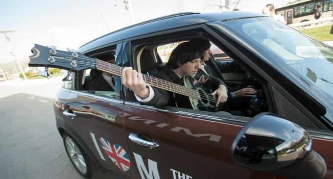 MINI iznenadio Beograđane pop-up koncertima