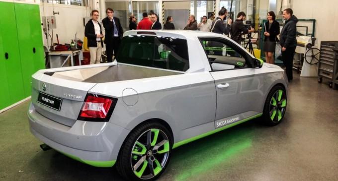 Škoda FUNstar je Fabia pickup