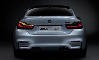 Organska OLED svetla za BMW M4