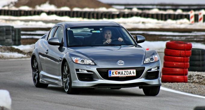Oproštajna vožnja: Mazda RX-8