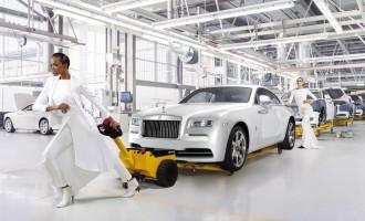Rolls-Royce Wraith inspirisan modom