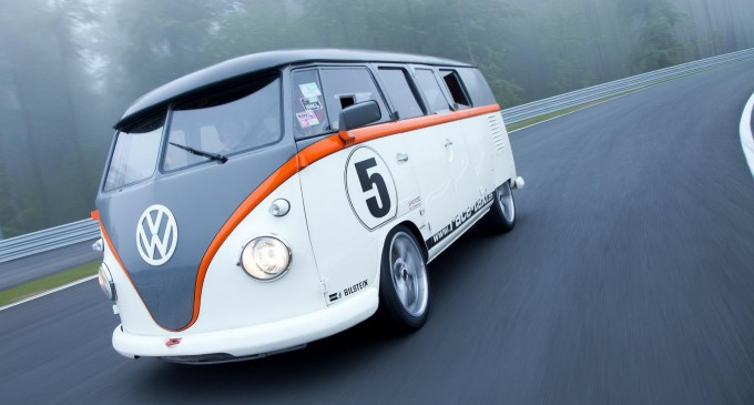 VW T1 sa mehanikom Porschea 993