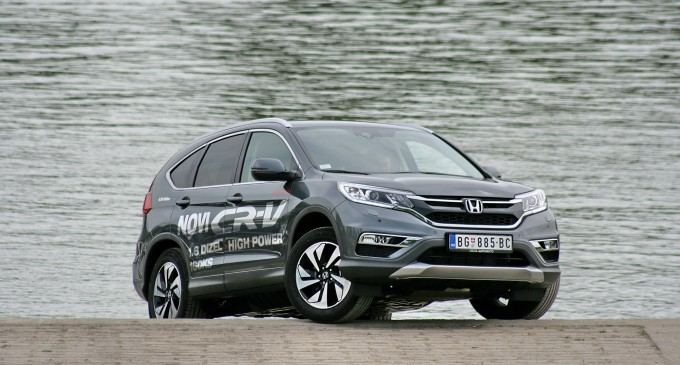 Honda CR-V sa 1,6 dizel motorom i navigacijom za 25.990 evra