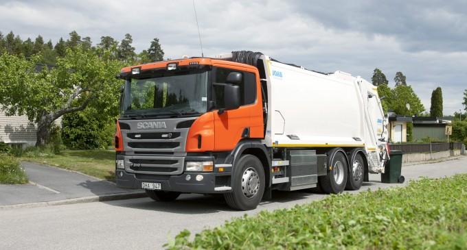 Scania CNG motori