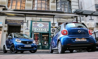 Test: smart fortwo & forfour